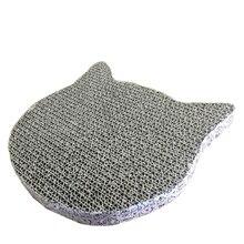 Игрушки для домашних животных высокое качество Когтеточка для кошек Игрушка для кошек гофрированная подушка