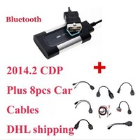 2017 Delphis DS150E 새로운 Vci 진단 도구 Autocom ds 150 TCS CDP 프로 플러스 OBD2 LED 및 비행 기능, 무료 배송