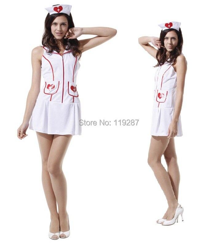 Free shipping Nurse Costume Women free Size Erotic Products Sexy Lingerie Hot Suit Nursing Uniform dresses for 155-170cm