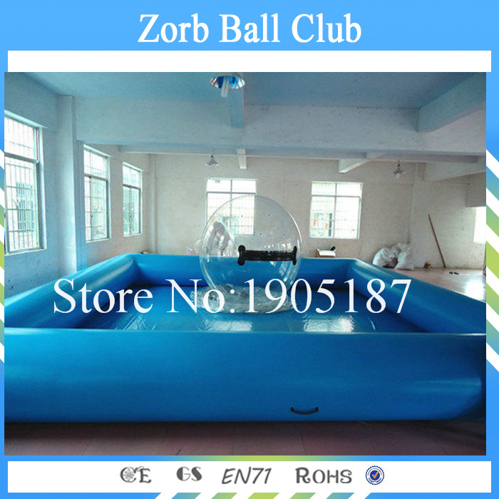 Free Shipping 6x6 Outdoor Large Inflatable Swimming Pool For Kids & Adults , New style Of PVC 0.9mm Body Interesting