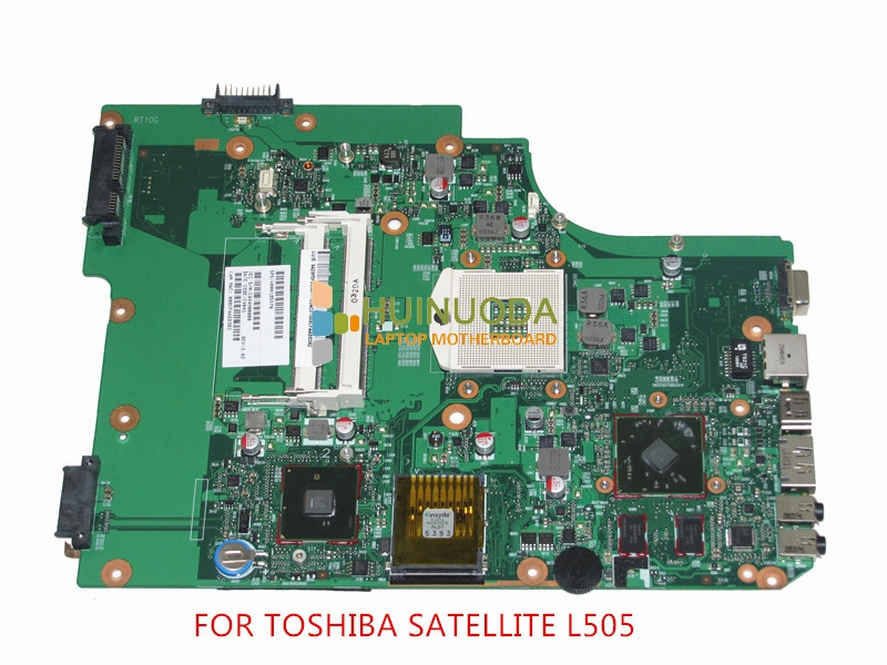 NOKOTION SPS V000185570 For toshiba satellite L505 Laptop motherboard intel HM55 ATI HD4500 Graphics DDR3 Mainboard h000041580 for toshiba satellite l870d c870 c870d laptop motherboard 17 3 ati graphics plac csac dsc mainboard