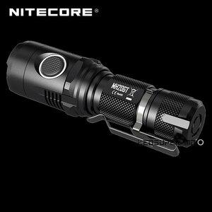 Image 4 - מפעל מחיר Nitecore MH20GT בגודל כף יד נייד זרקור LED USB נטענת 18650 פנס 1000 Lumens