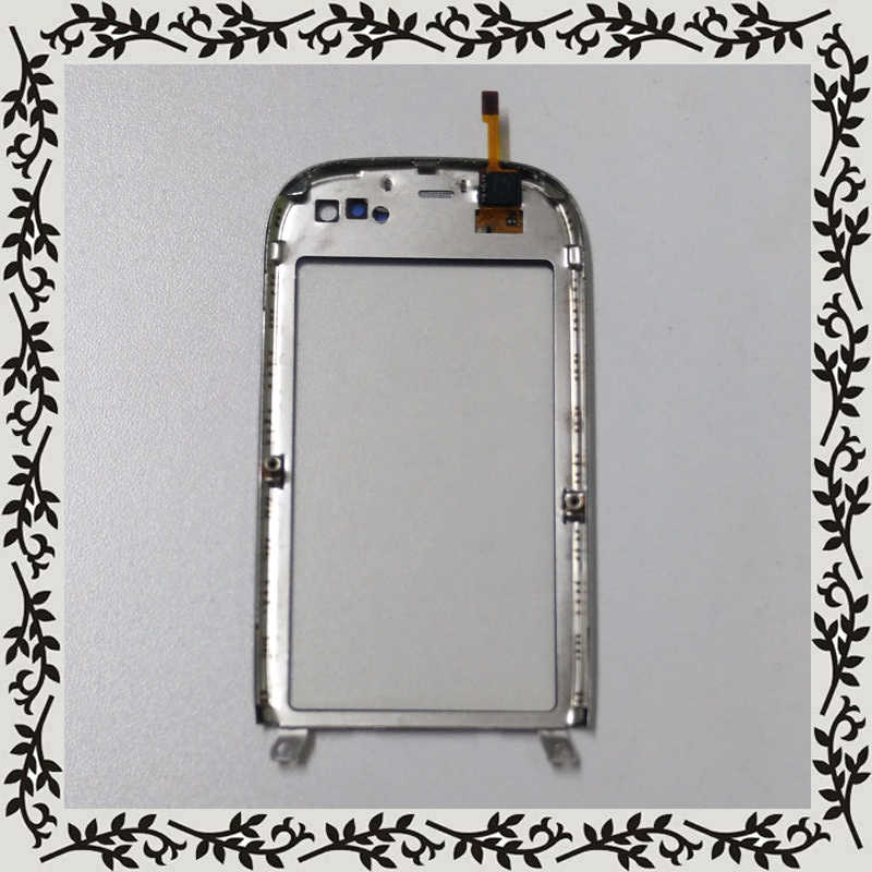 الفضة لنوكيا C7 C7-00 محول الأرقام بشاشة تعمل بلمس الاستشعار زجاج عدسة لوحة