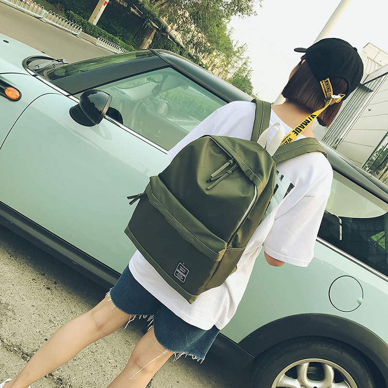 MIWIND Canvas Small Backpack Unisex School Bags For Teenage Backpack For Students Backpacks Travel Rucksack XM028