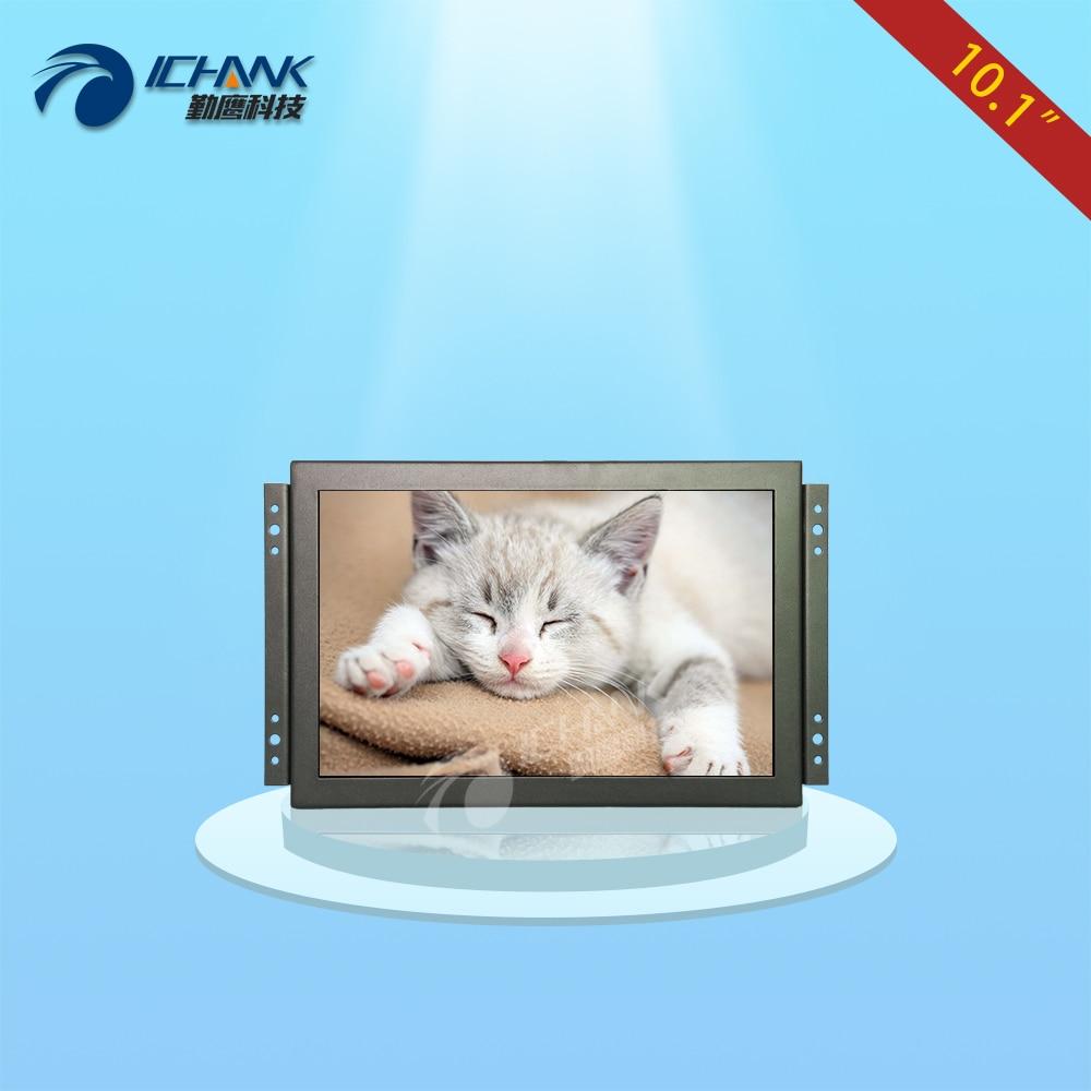 "K101TN-ABHUV-H / 10.1 pulgadas 1920x1200 IPS Pantalla de marco abierto Monitor / 10.1 ""HDMI de alta resolución con marco de metal incorporado Pantalla LCD"