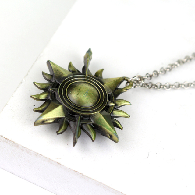 Game of Thrones Ice of Song and Fire Pendant Neclace