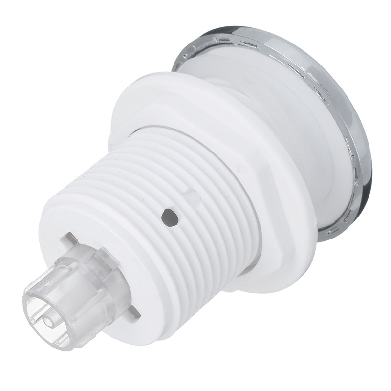 1Pc New Pneumatic Switch On Off Push Air Switch Button 32mm For Bathtub Spa Waste Garbage Disposal Whirlpool Convenient Switch