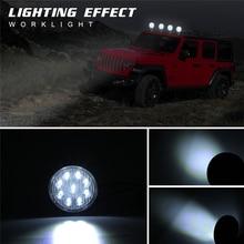 цена на 4 Inch Offroad LED Light Bar Flood Spot Combo Beam Spotlight 12V For Jeep ATV UAZ SUV 4WD 4x4 Truck Tractor LED Work Light