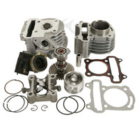 Motorcycle Chinese Scooter GY6 50CC To 80CC BIG BORE Cylinder Kit For ROKETA TAOTAO BAJA 4 Stroke