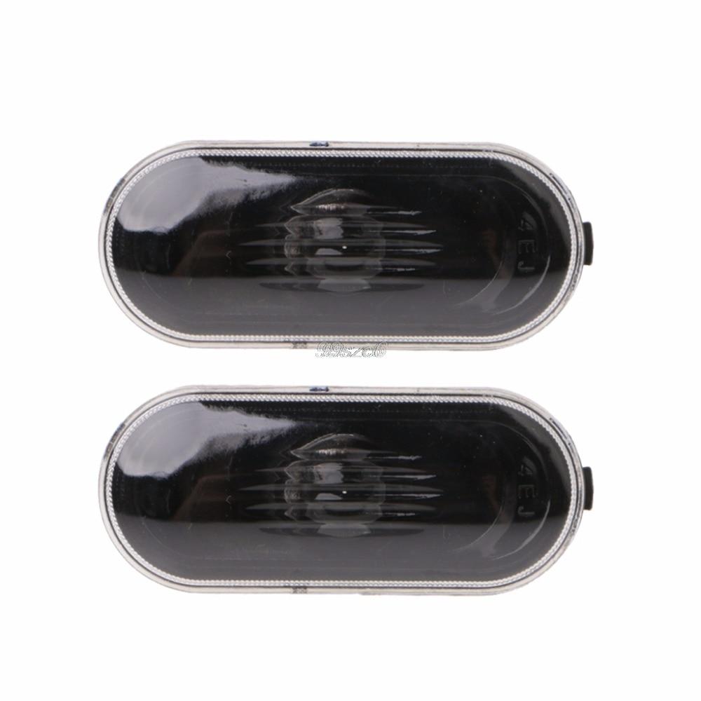 2 Pcs Free Side Marker Turn Light For Para Golf/Jetta/Bora MK4\B5\B5.5\R32 New Beetle Indicator Beam Bulb Cover New DropShip