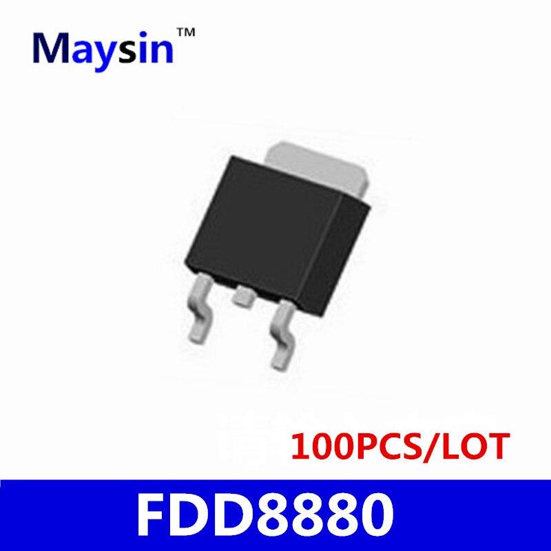 20 pcs 50 pcs 100 PCS FDD8880 TO252 FDD8880L FDD8880TM D8880L SMD