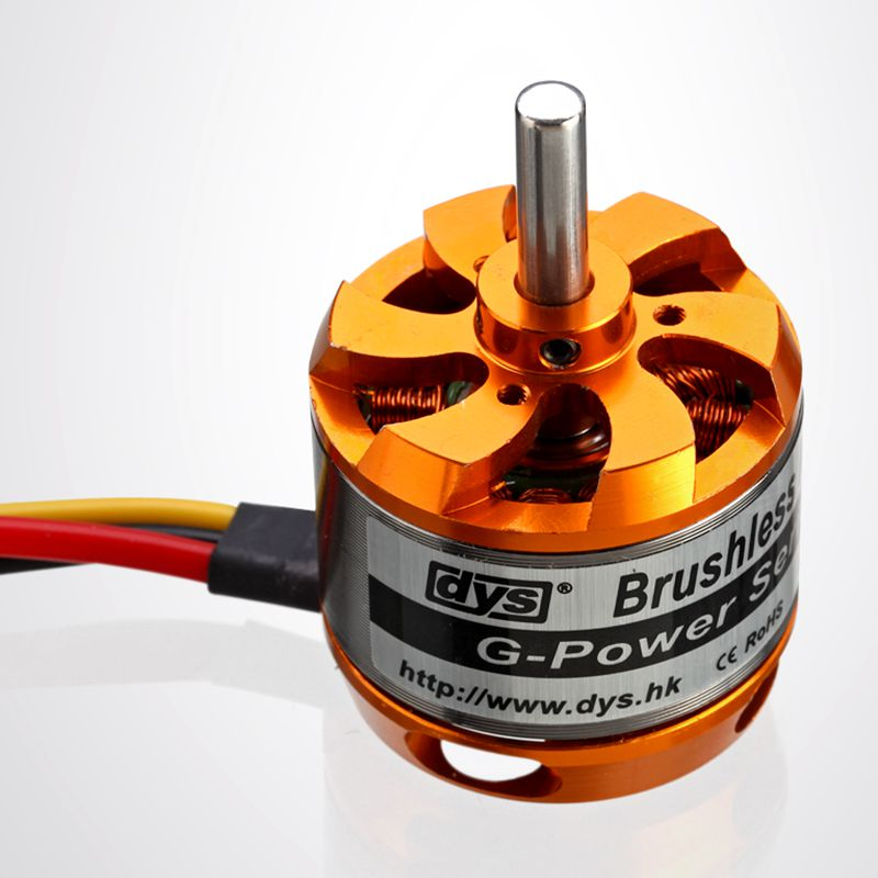 DYS D3542 1450KV 1250KV 1000KV Brushless Outrunner Motor For Mini Multicopters RC Plane rctimer bc3542 3542 1000kv 1250kv 1450kv outrunner brushless motor 5 0mm shaft for rc quadcopter diy fpv multirotor motors