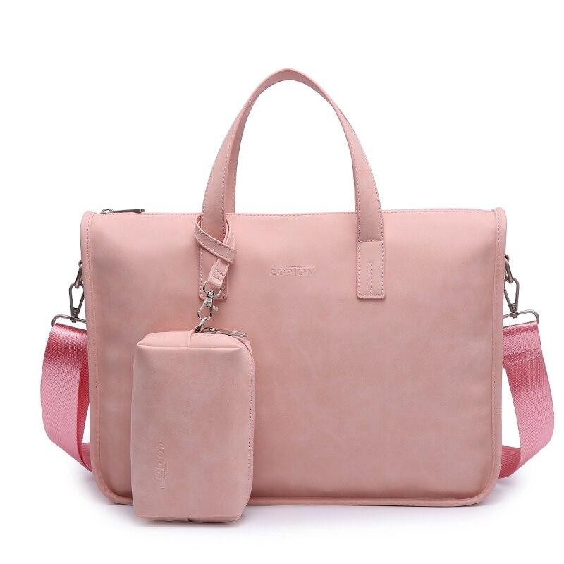 Femmes ordinateur portable messenger sac 13 14 15 15.6 pouces ordinateur portable épaule étui de transport sac à main porte-documents pour Macbook Dell HP