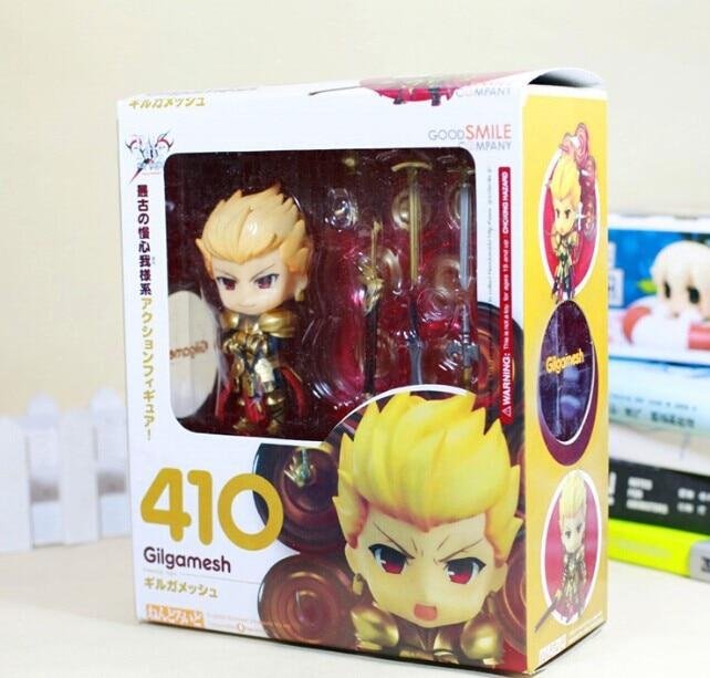 410cm Fate stay Night Gilgamesh Fate/stay Night Gilgamesh Nendoroid 410# PVC Action Figure Toy With Box le fate топ