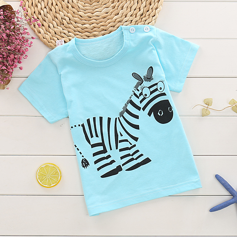 2018 new baby boy and girl clothes summer kids short sleeve t shirt quality 100% cotton children clothing bobo choes cotton baby boy clothes summer baby boy clothing sets short sleeve children clothing roupas bebe kids clothes t shirt shorts