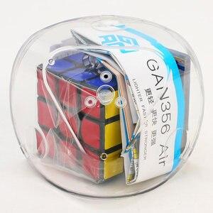 Image 3 - Gan 356 mestre do ar quebra cabeça cubo de velocidade mágica 3x3x3 profissional gans cubo magico gan356 brinquedos de ar para crianças