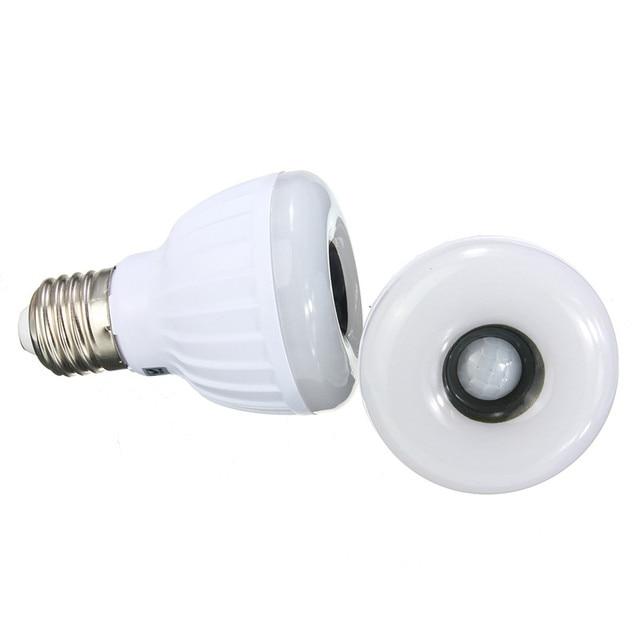 5 W E27 Infrarood PIR Sensor LED Gloeilamp 25 stks 3528SMD ...