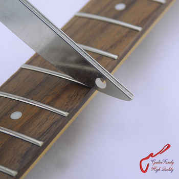 GuitarFamily  Offset Dual Width Diamond Crowning Fret File 300 Grit. - DISCOUNT ITEM  30% OFF All Category