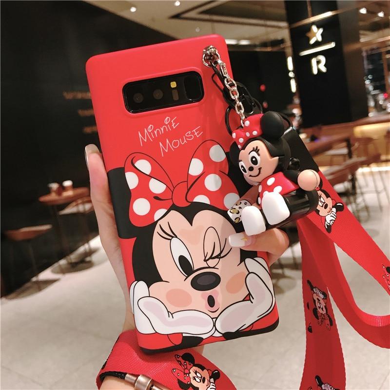 La Casa des Coques Cover Ufficiale Disney Minnie I Love Shoes Samsung Galaxy A6 Plus