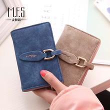Модные маленькие женские держатели для карт вместительные бумажники