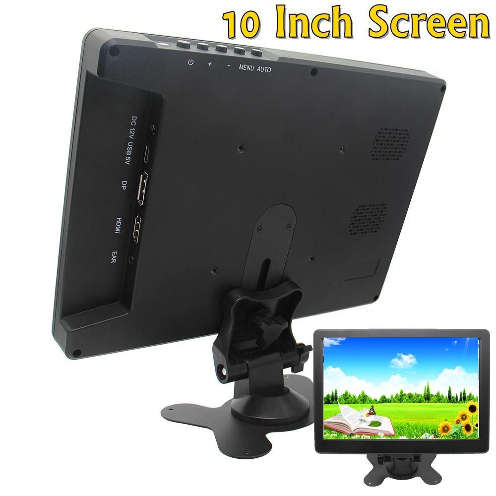 10 pouces HD Mini ordinateur et TV affichage CCTV sécurité Surveillance écran hdmi lcd moniteurs pour Raspberry Pi forPS3 4 pour Mac mini