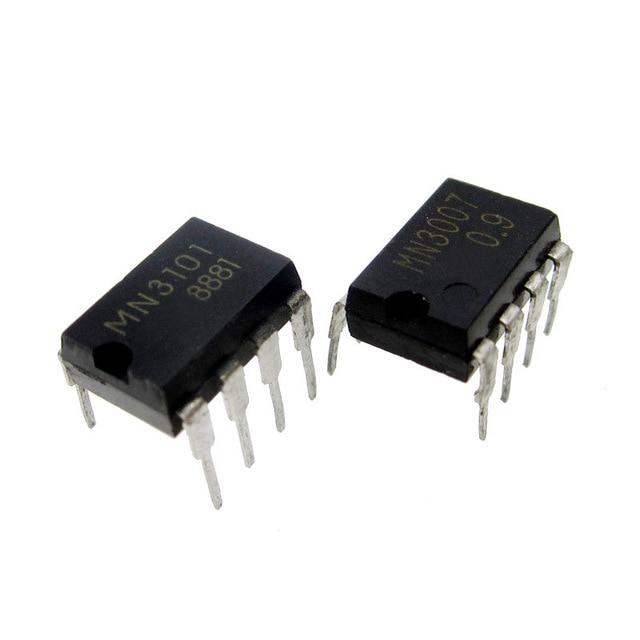 10pcs/lot=5pair MN3007 + MN3101 DIP-8 In Stock
