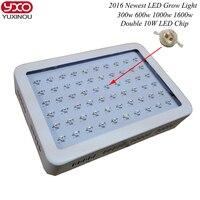 Полный спектр 45 Вт 300 Вт 600 Вт 1000 Вт 1600 Вт двойной чип растет свет лампы красный/ синий/белый/uv/ИК для гидропоники и комнатных растений
