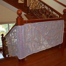 Белая и утолщенная детская безопасная железная Балконная Лестница защитная сетка для лестничных ограждений для детей/Детская безопасность; безопасность домашних животных