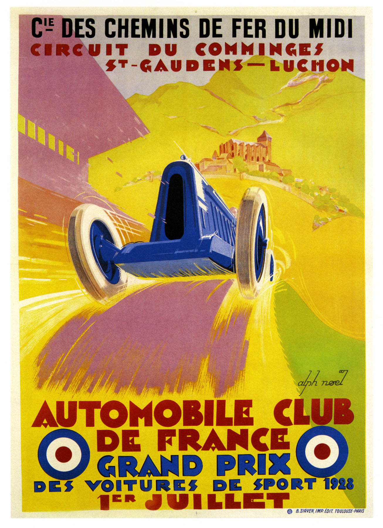1948 Belgian Grand Prix Motor Racing Poster A3//A2//A1 Print