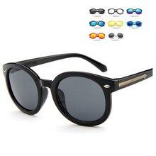 Kids Sunglasses Children Boys Girls Sun Glasses Child Plastic Frame Rivet Colorful Goggles SHADES EyewearMecol 2016