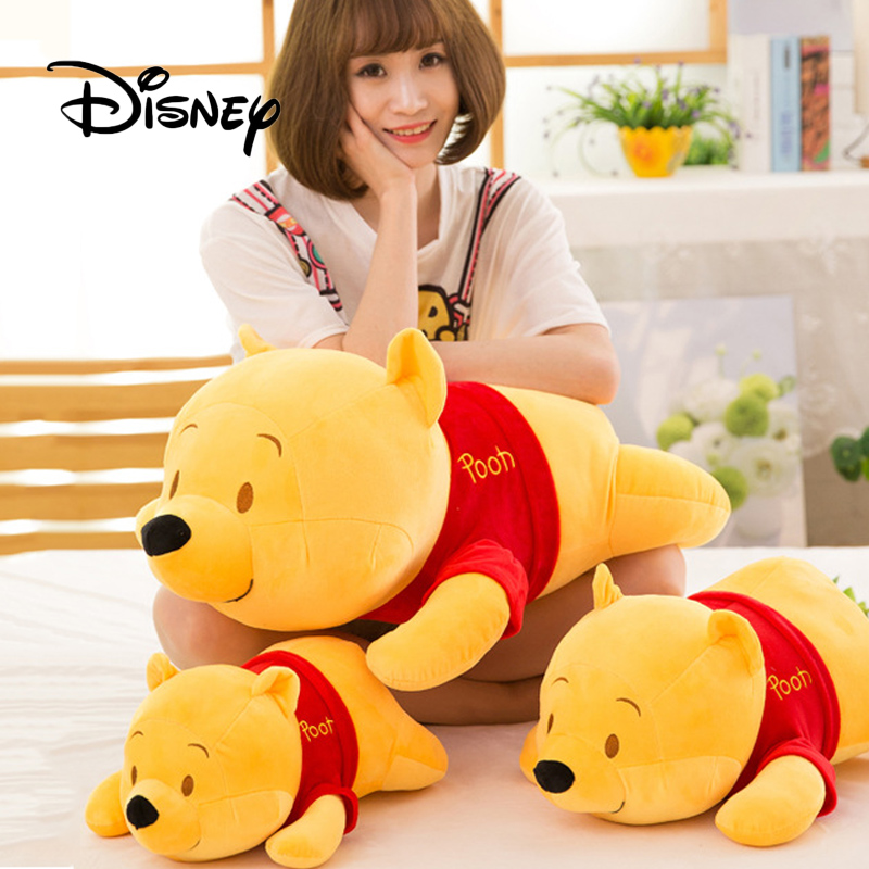 2019 Disney 35-55CM Cute Plush Animal Mickey Mouse Winnie The Pooh Soft Filled Doll Boy Girl Children's Birthday The Best Gift