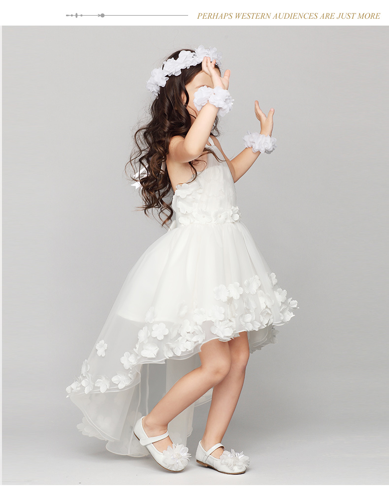 Wedding bridesmaid girl dresses sleeveless princess lace dress for wedding bridesmaid girl dresses sleeveless princess lace dress for 2 3 4 5 6 7 8 9 10 11 12 years old girls frocks clothes in dresses from mother kids on ombrellifo Gallery