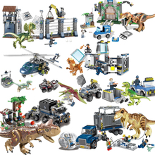 Jurassic World 2 Blue Owen Indoraptor Rex T Rex Fallen Kingdom Sets Compatible Legoinglys Dinosaurs Toys