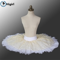 Free Shipping Navy Blue Half Ballet Tutu Pancake Tutu For Gilrs Ballerina Tutu Dresses Ballet Costumes
