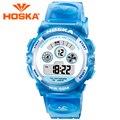 De design da marca Crianças relógios digitais das crianças meninas relógio digital-relógio led esporte ao ar livre à prova d' água 50 M Multifuncional Clássico