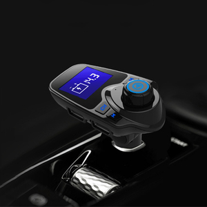 Image 5 - Bluetooth FM Transmitter USB Auto Kit Aux 12V Lecteur USB Voiture Metall Und Kunststoff MP3 Player Auto Für Auto ABS Bluetooth MP3