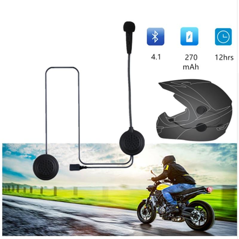 EJEAS E1 Helmet Bluetooth Headset Interfone 15M CSR Chip 270mAh 12Hrs Talk Microphone Speaker MP3 Motorcycle Communication