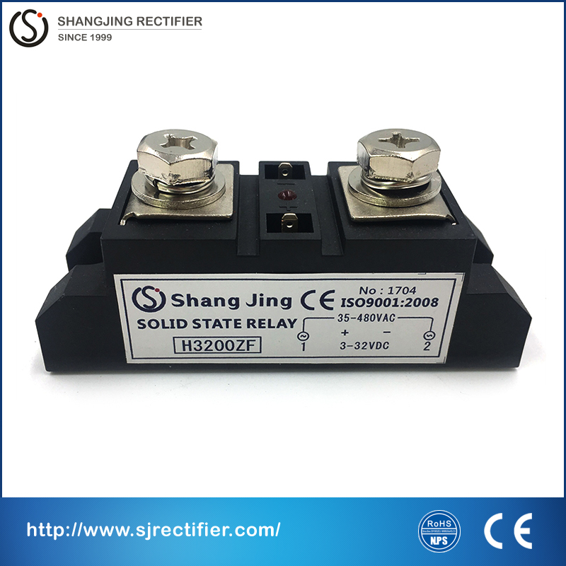 цена на outline 94*34*32.5mm 200A high current ratting input 3~32VDC output 35~480VAC(DC-AC) SSR high end solid state relay free ship