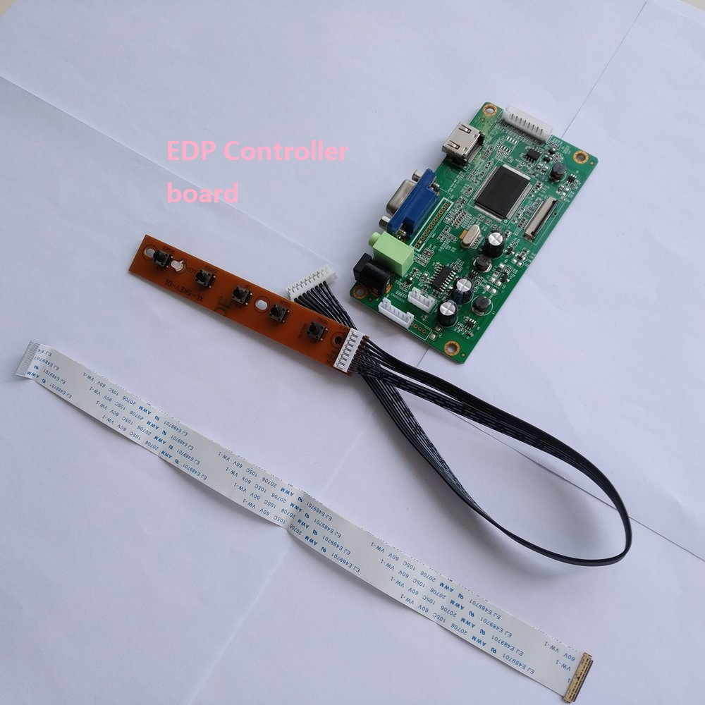 for N156HGE-EAL 1920X1080 LCD DIY KIT VGA Controller board EDP HDMI monitor DRIVER LED EDP SCREEN display 40Pin 15.6