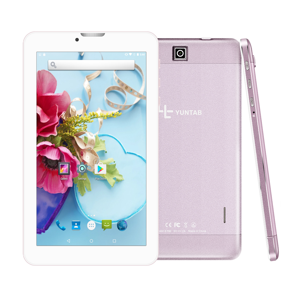 Yuntab 7 inch E706 4 color Alloy Android 5.1 tablet PC 3G unlocked - Tablet Computers - Photo 2