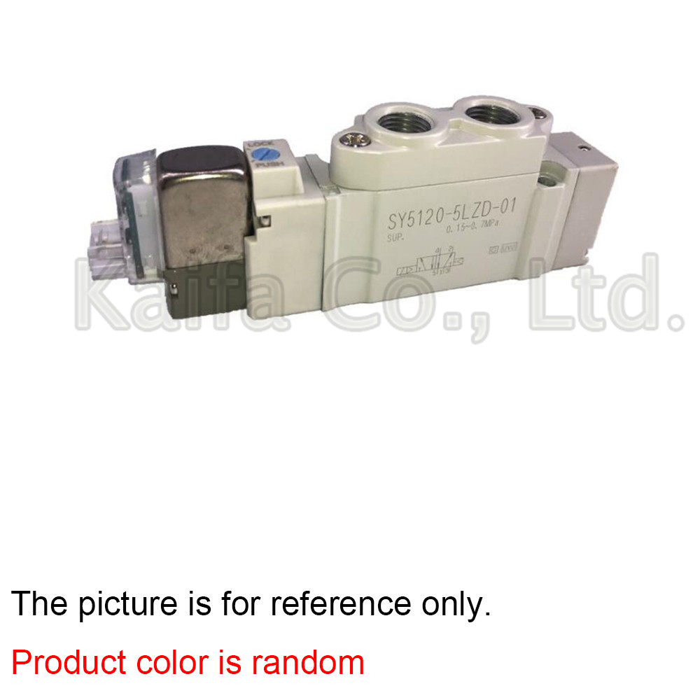все цены на 1PCS Solenoid valve SY5120-3LZD-01/4LZD-01/5LZD-01/6LZD-01 smc type performance rated voltage direct connected онлайн