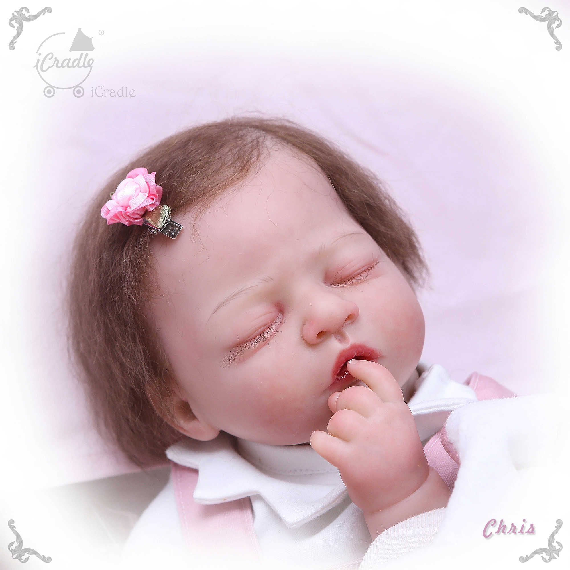 Bebes Reborn Doll Boutique Silicone Reborn Baby Doll 50cm Icradle Series Collection Newborn Baby Dolls Gift Handmade Aliexpress