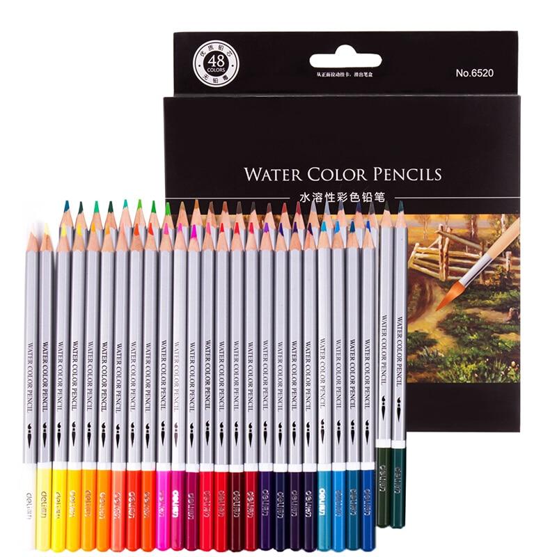 48 Pack Aquarell Bleistifte, Aquarell Bleistift Kunst Set, Aquarell, Zeichnung, Kunst, 3mm Kern, 48 zählen (6520)