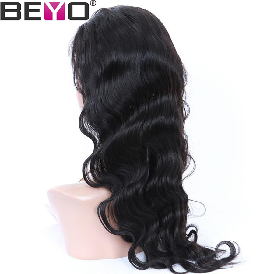U Part Wig Glueless Human Hair Wigs For Women Brazilian Body Wave Lace Wig 10-26 Inch 150 Density Natural Color Remy Hair Beyo (4)