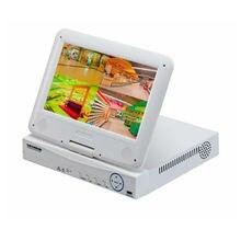 JSA H 264 VGA HDMI 4CH CCTV NVR incl 10 1 inch Lcd Screen MiniNVR ONVIF