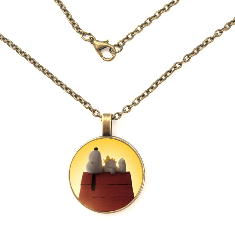 Fashion Cartoon Character Cute Charm DIY Accessories of Necklace Hanging Necklace Female Handmade Jewelry Gift in Pendant Necklaces from Jewelry Accessories