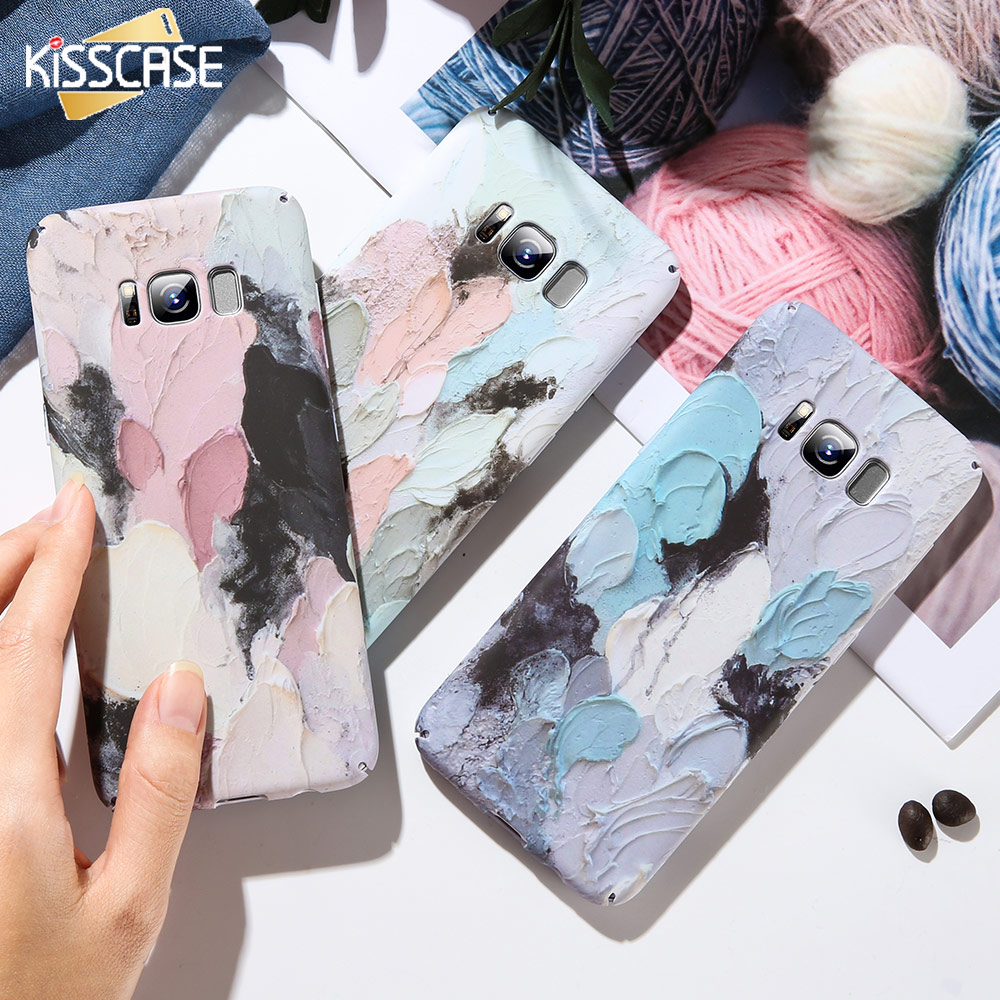 KISSCASE Luminous <font><b>Hard</b></font> PC <font><b>Case</b></font> For <font><b>Samsung</b></font> Galaxy <font><b>A5</b></font> A7 A3 2017 <font><b>2016</b></font> Art Graffiti <font><b>Case</b></font> For <font><b>Samsung</b></font> S8 S9 Plus A6 A8 2018 Cover image
