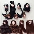 Детские игрушки высокое качество кукла с черными каштановые волосы DIY аксессуары для куклы барби для 1/6 BJD кукольный дом