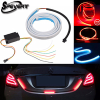 SPEVERT 120cm Undercarriage Floating Led Dynamic Streamer Turn Signal Tail Reverse LED Warning Lights Luggage Compartment Lights