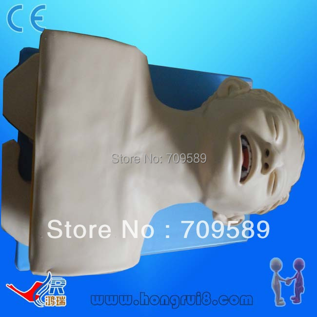 Advanced electric trachea intubation model iso economic newborn baby intubation training model intubation mannequin